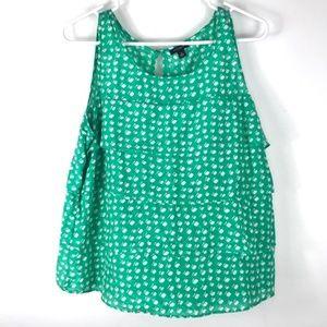 Ann Taylor Sleeveless Blouse size XL